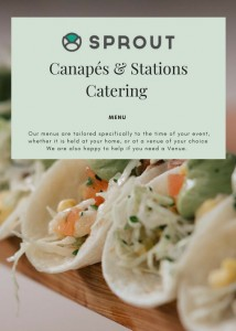 Cover of Canape & Station Catering-3