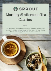 Morning & Afternoon Tea Catering